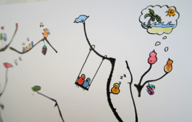 """""""Liefdesbos"""" van Steffi Jorna Artworks"""