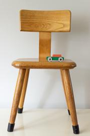 Vintage schoolstoeltje, vd Woude  serie 1170/1