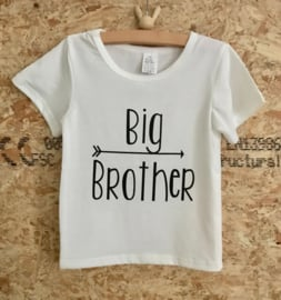T shirt BIG brother, off-white