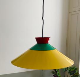 Metalen hanglamp, geel. Merk: WPL