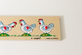 puzzel, kippen van Simplex