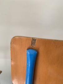 Oude kleuterstoeltjes