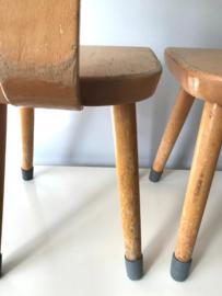 Schilte schoolstoeltjes,  31,5 cm