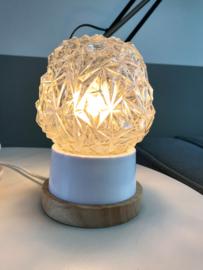 Vintage bollampje, kristal