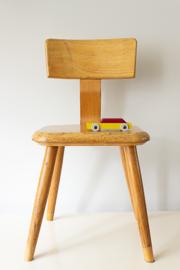 Vintage schoolstoeltje, v.d. Woude, serie 1170