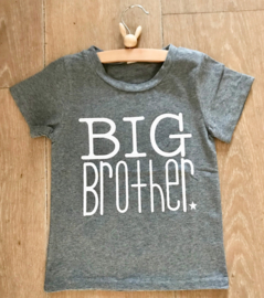 T shirt BIG brother, grijs