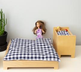 Poppenvilla slaapkamer, By Liliane