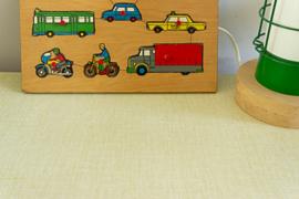 Vintage schooltafeltje en Schilte schoolstoeltje