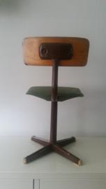 Stoer vintage stoeltje
