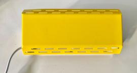 Vintage G&G bedlampje, geel