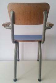 Tubax schoolstoeltje, blauw