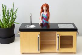 Poppenvilla keuken, By Liliane