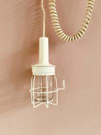 Vintage looplamp, wit