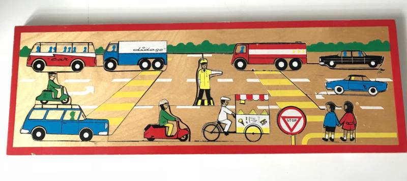 Vintage houten puzzel, Didago België