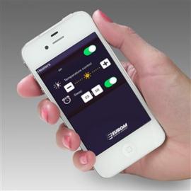 Infrarood terrasverwarmer, dimbaar en regelbaar met SMART PHONE