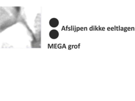 Diamant Mega grof [2x zwart]