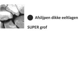 Diamant Super grof [zwart]