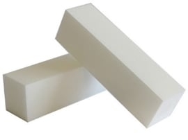 Block Buffer White
