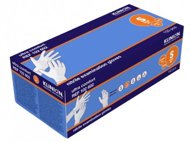 Klinion Handschoen - Nitrile Ultra Comfort -Small