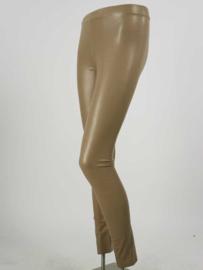 Leatherlook legging beige