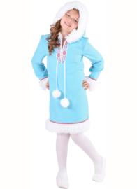 """Eskimo meisje """"Ice-blue"""""""