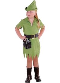 Robin meisje groen