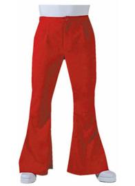 Hippie broek rood