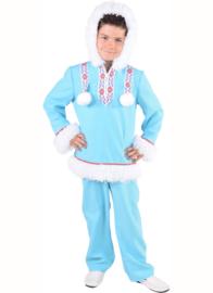 Eskimo jongen Ice-blue