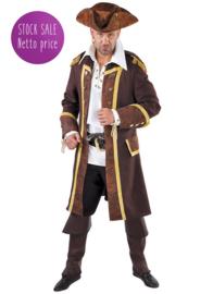 Piratenmantel bruin
