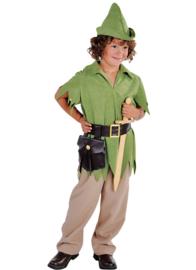 Robin jongen groen
