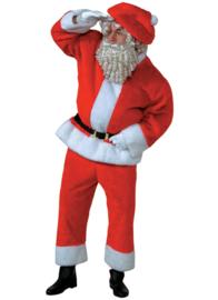 Kerstman pluch lux
