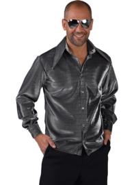 Shirt lurex zilver lux