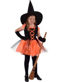 Heksje zwart/oranje