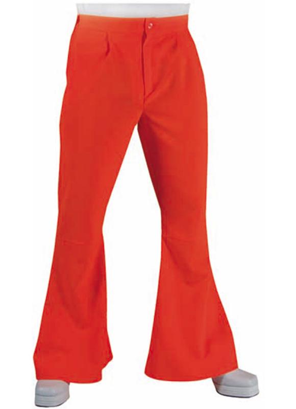 Hippie broek oranje