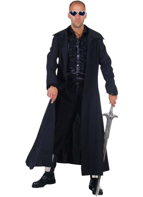 Zwarte mantel