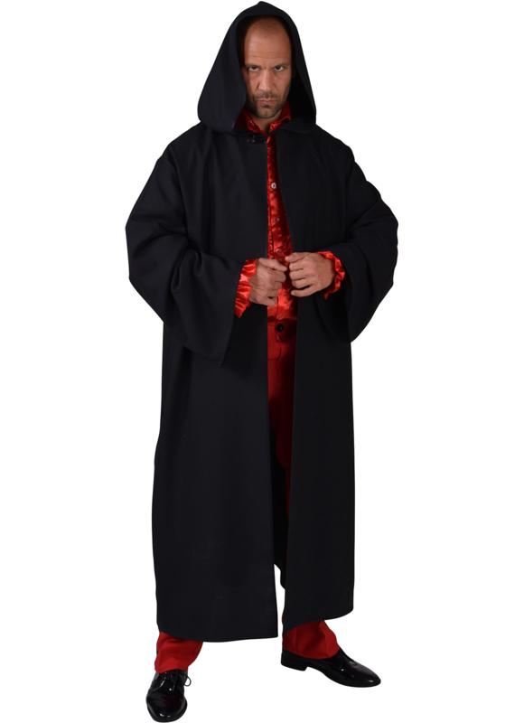 Venetie mantel zwart