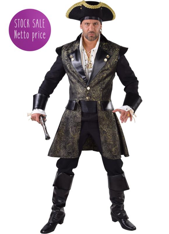 Piraten mantel brocaat