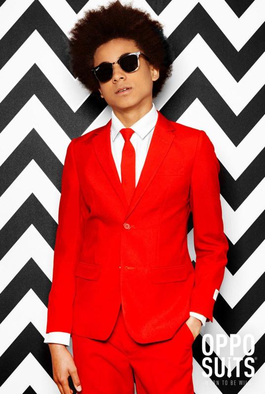 Teen Boys Red Devil