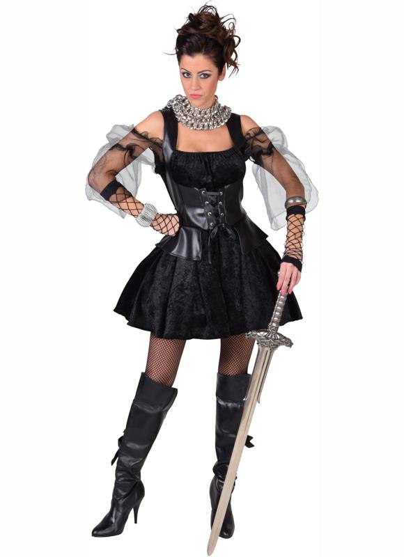 Zwarte pirate / heks sexy