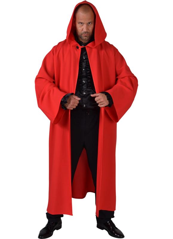 Venetie mantel rood