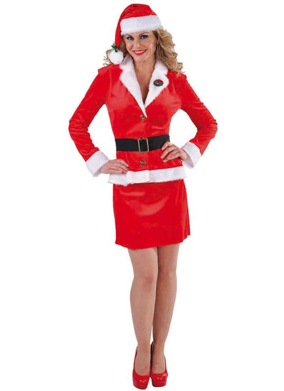 Santa girl business