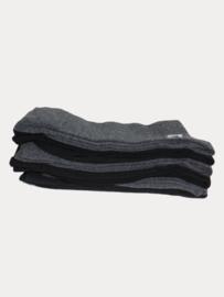 Koelmax socks zwart/antraciet 10 paar