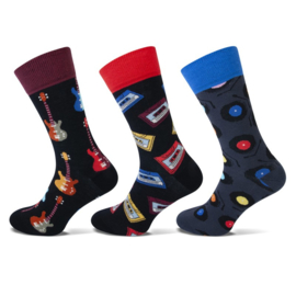 Teckel - Fashion Socks - Music - 3 Paar