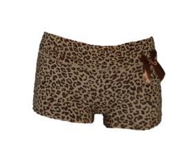 panter print dames boxer short