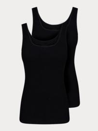 Dames Hemd - Zwart - 2 Pack
