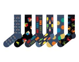 Teckel - Fashion Socks - Summer - 6 Paar