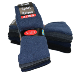 Sport sokken 10 pak mix