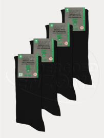 Sokken voor diabeten - Zwart - 4 Paar