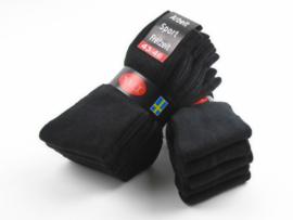 Sport sokken 10 pak zwart