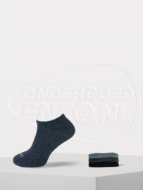 O'Neill - Sneakersokken - Grijs Mix - 6 Pack